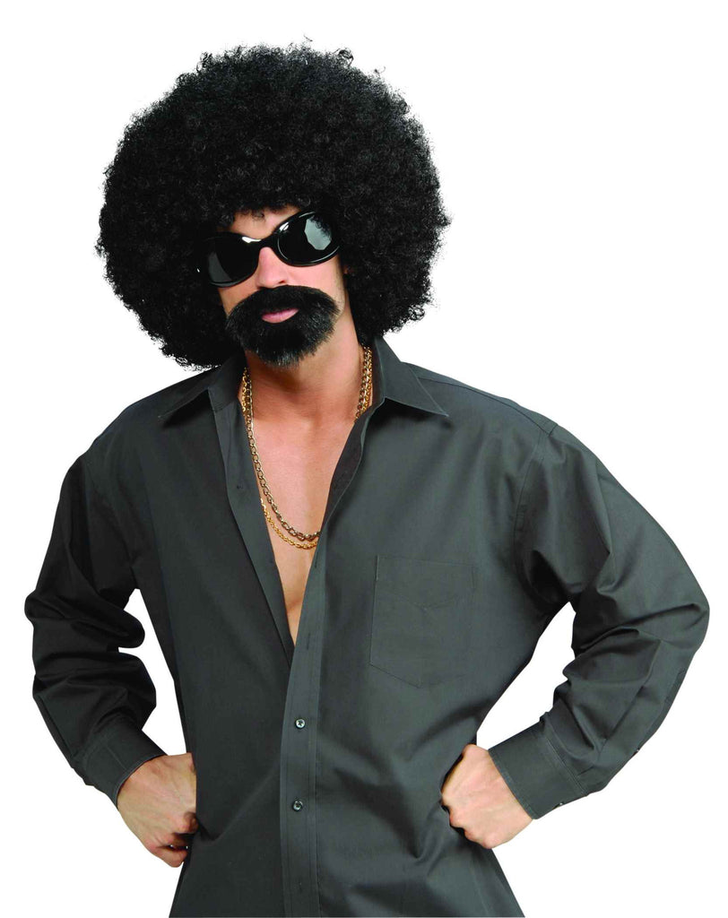 Costume Wigs 70's Afro Man Wig Costume Kits