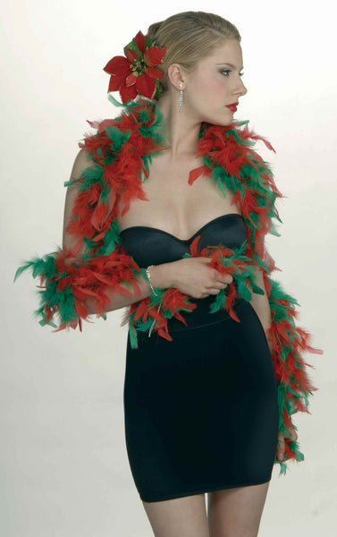 Two Tone Feather Boa - Various Colors - HalloweenCostumes4U.com - Accessories - 14