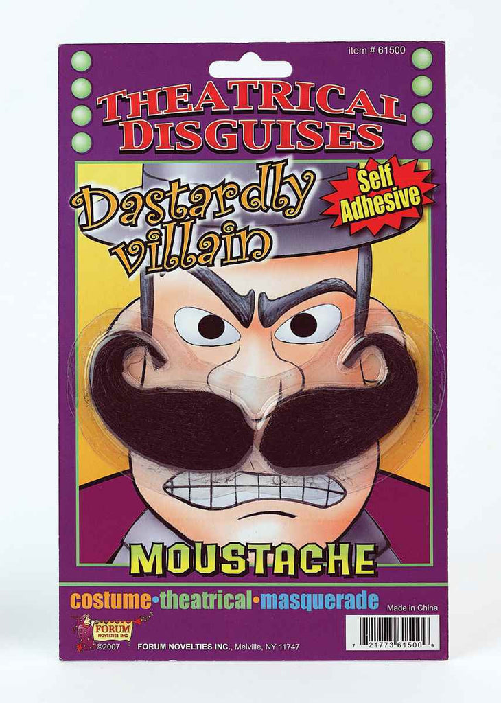 Costume Moustaches Retro Villain Costume Moustache - HalloweenCostumes4U.com - Accessories