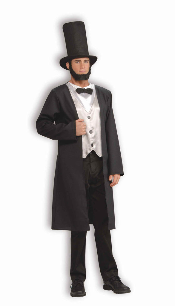 Lincoln Costumes Abraham Lincoln Costume Adult - HalloweenCostumes4U.com - Adult Costumes