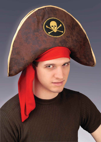 Halloween Costume Hats Pirate Costume Hat - HalloweenCostumes4U.com - Accessories