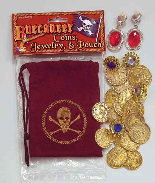 Pirate Hallowen Costume Accessory Kits - HalloweenCostumes4U.com - Accessories