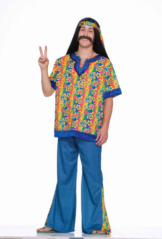 Hippie Halloween Costumes Mens Hippie Costume - HalloweenCostumes4U.com - Adult Costumes
