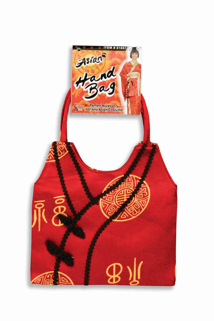 Halloween Costume Hangbags Asian Purse - HalloweenCostumes4U.com - Accessories