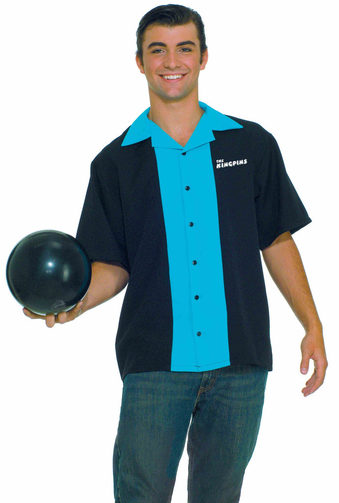 Halloween Costumes Retro Bowling Shirt Costume Adult