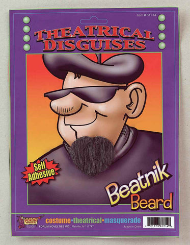 Beatnik Beard - HalloweenCostumes4U.com - Accessories