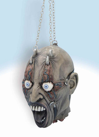Halloween Props Head on Chains Prop - HalloweenCostumes4U.com - Decorations