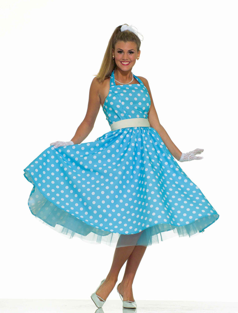 Halloween Costumes 50's Teen Adult Costume - HalloweenCostumes4U.com - Adult Costumes