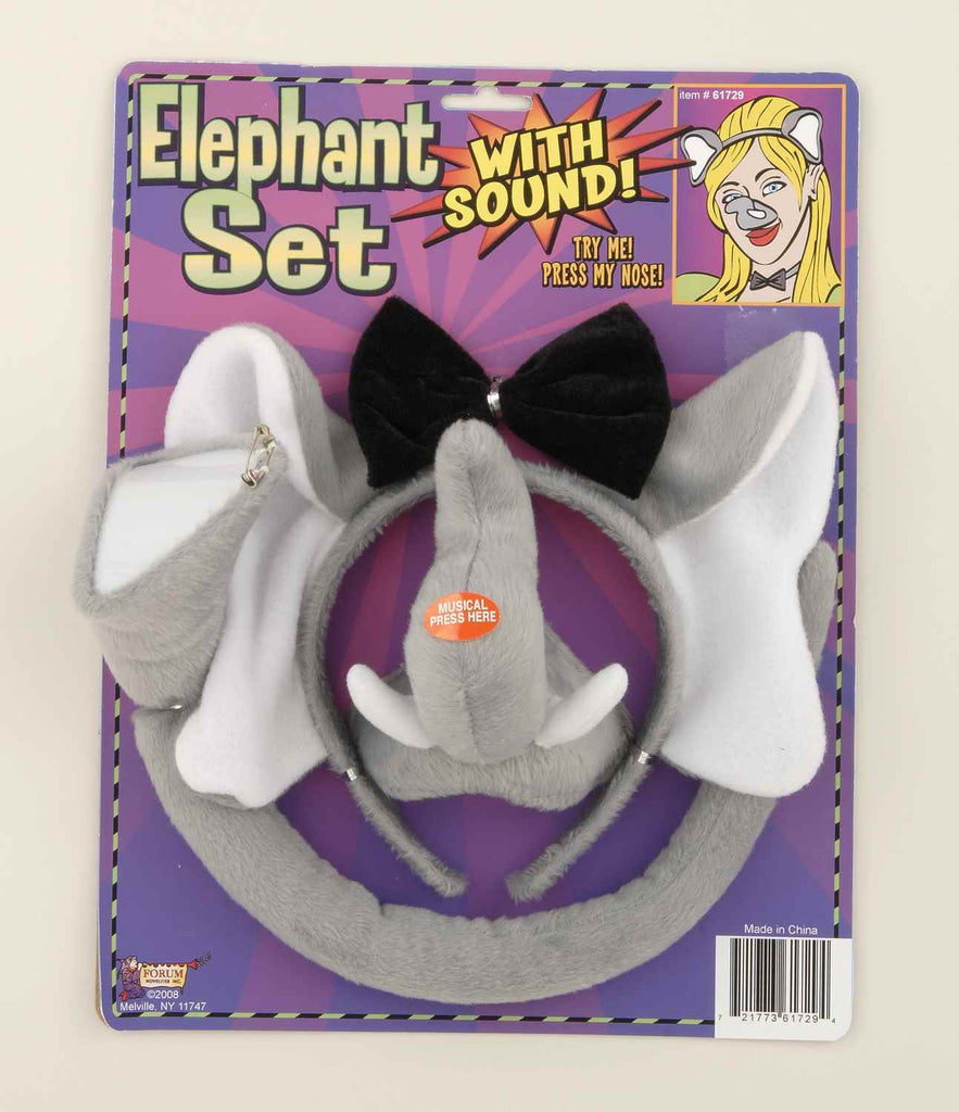 Elephant Costume Kits with Sounds - HalloweenCostumes4U.com - Accessories