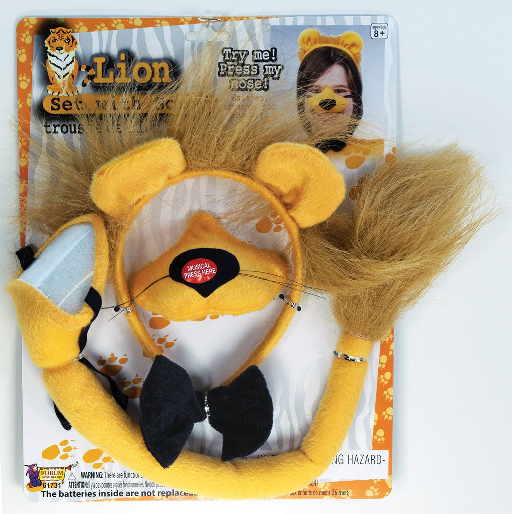 Lion Costume Kits with Sound - HalloweenCostumes4U.com - Accessories