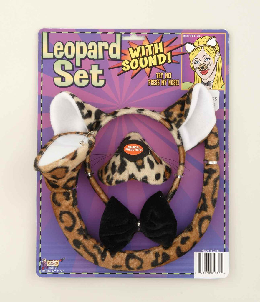 Leopard Costume Kit with Sound - HalloweenCostumes4U.com - Accessories