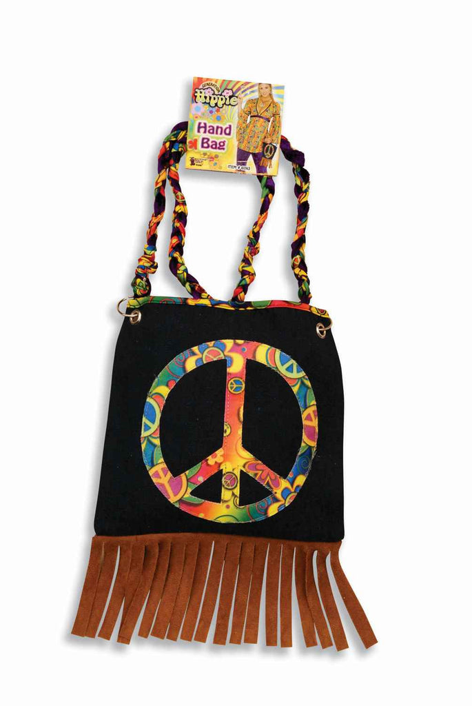 Halloween Costume Bags Costume Hippie Peace Bag - HalloweenCostumes4U.com - Accessories