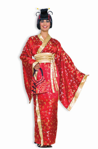 Womens Asian Geisha Costume - HalloweenCostumes4U.com - Adult Costumes