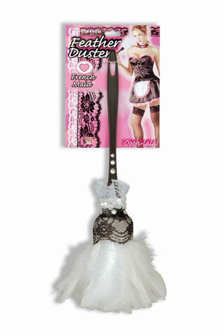 French Maid's Feather Duster - HalloweenCostumes4U.com - Accessories