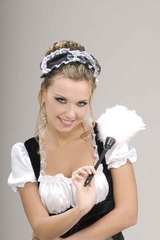 Lace French Maid's Headpiece - HalloweenCostumes4U.com - Accessories