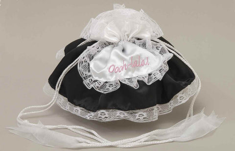 Halloween Costumes French Maid Purse - HalloweenCostumes4U.com - Accessories