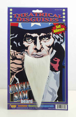 Uncle Sam Costume Beard - HalloweenCostumes4U.com - Holidays