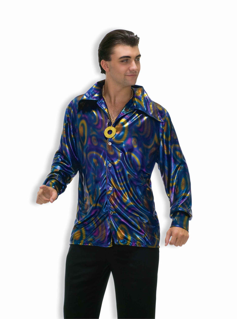 Disco Hallowene Costumes Disco Man Costume Shirt - HalloweenCostumes4U.com - Adult Costumes
