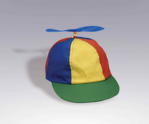 Funny Halloween Hats Propeller Hat Rainbow - HalloweenCostumes4U.com - Accessories