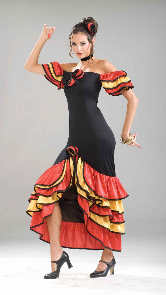 Spanish Halloween Costumes Spanish Tango Costume - HalloweenCostumes4U.com - Adult Costumes