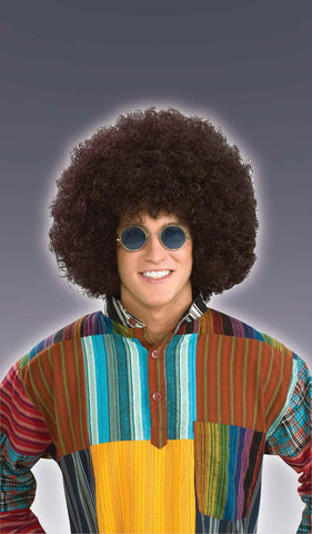 Halloween Wigs Hippie Afro Costume Wig - HalloweenCostumes4U.com - Accessories