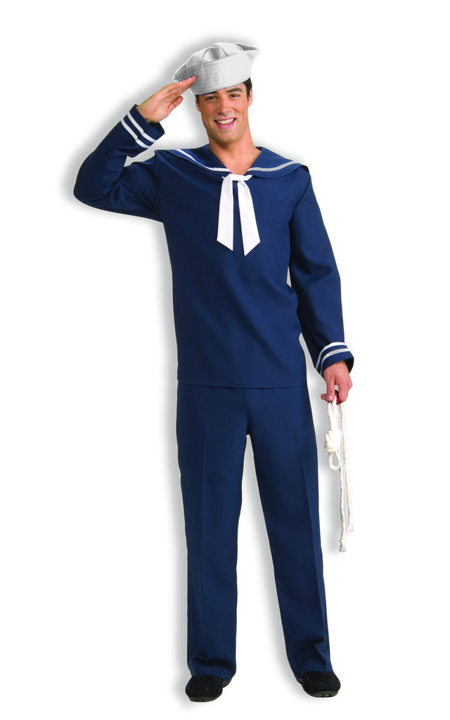 Navy Costumes Adults Navy Sailor Halloween Costume - HalloweenCostumes4U.com - Adult Costumes