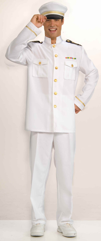 Mens Navy Captain Costume - HalloweenCostumes4U.com - Adult Costumes