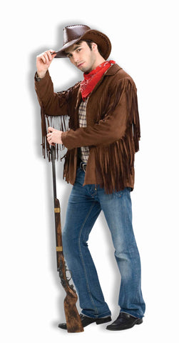 Cowboy Costumes Old West Cowboy Costume Coat Adult - HalloweenCostumes4U.com - Adult Costumes
