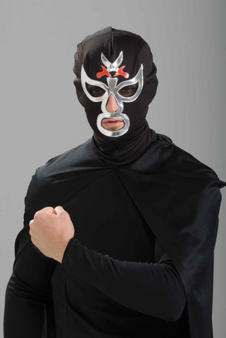 Halloween Masks Mexican Wrestler Costume Mask - HalloweenCostumes4U.com - Accessories