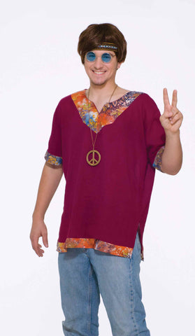 Mens Groovy Shirt - HalloweenCostumes4U.com - Adult Costumes