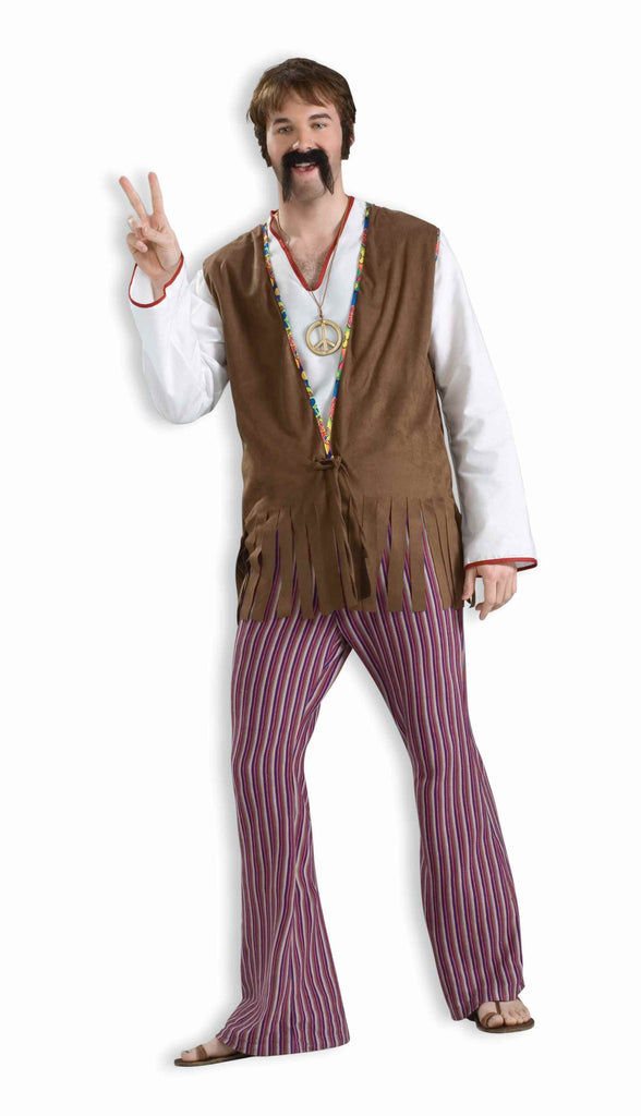 Mens Hippie Bell Bottoms - HalloweenCostumes4U.com - Adult Costumes