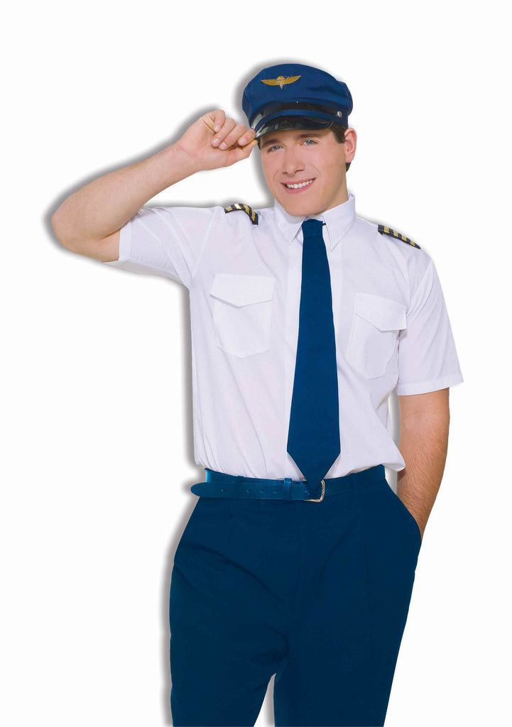 Pilot Halloween Costumes Co-Pilot Costume for Adults - HalloweenCostumes4U.com - Adult Costumes