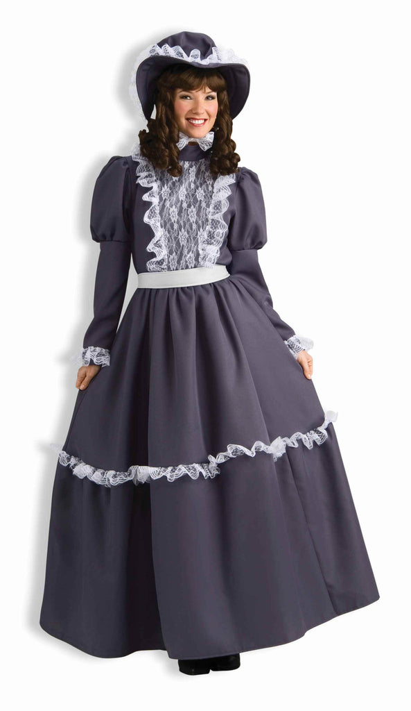Historical Costumes Pioneer Woman Costume Adults - HalloweenCostumes4U.com - Adult Costumes
