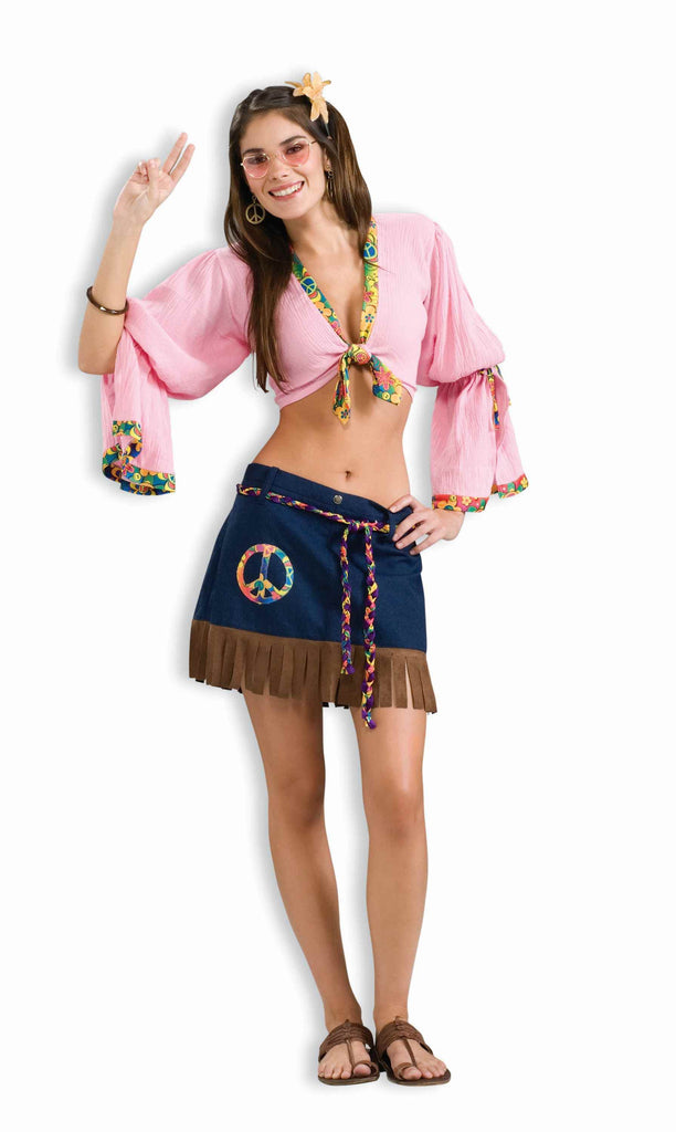 Sexy Halloween Costumes Sexy Hippie Woman Costume - HalloweenCostumes4U.com - Adult Costumes