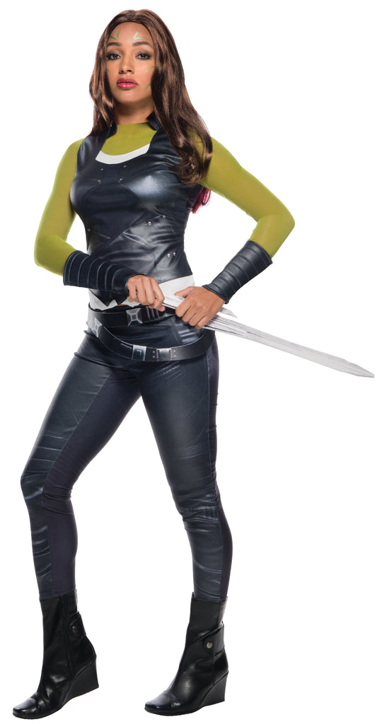 Womens/Teens Guardians of the Galaxy Gamora Costume