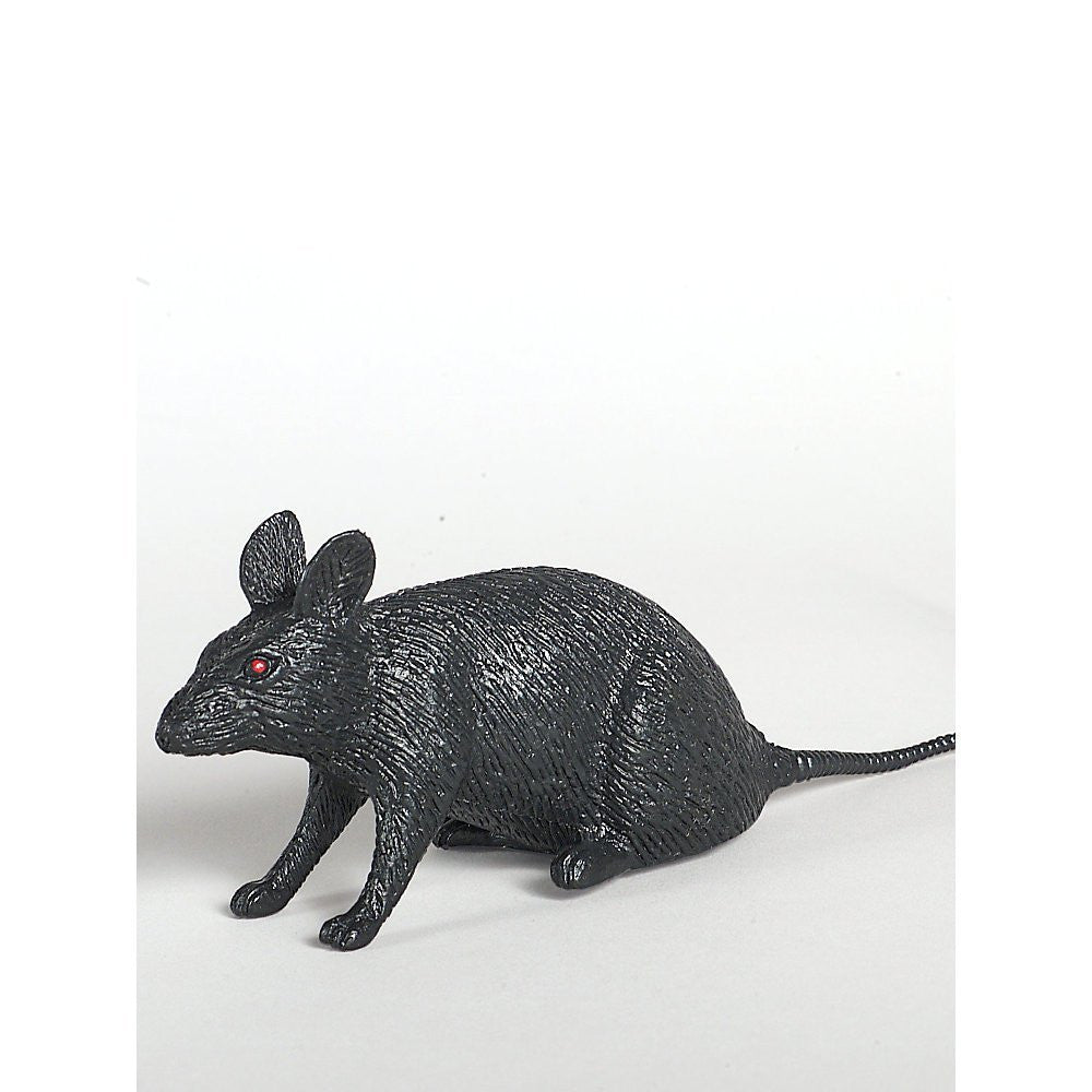 "9"" Night Creature Rubber Mouse - Various Colors"