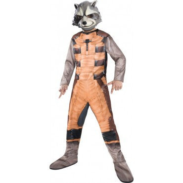 Boys Guardians of the Galaxy Rocket Raccoon Costume - HalloweenCostumes4U.com - Kids Costumes