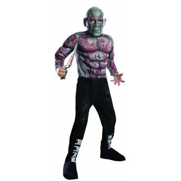 Boys Guardians of the Galaxy Deluxe Drax the Destroyer Costume - HalloweenCostumes4U.com - Kids Costumes