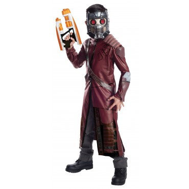 Boys Guardians of the Galaxy Deluxe Star Lord Costume - HalloweenCostumes4U.com - Kids Costumes