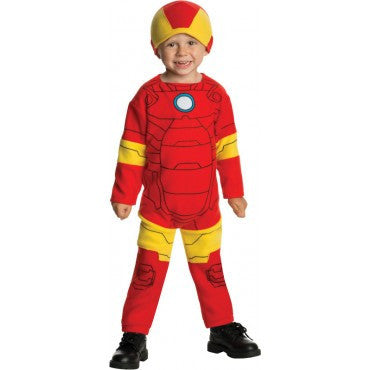 Toddlers Avengers Iron Man Costume - HalloweenCostumes4U.com - Infant & Toddler Costumes