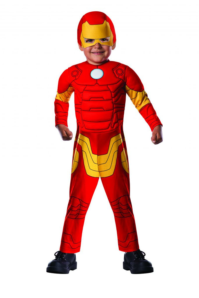 Toddlers Avengers Deluxe Iron Man Costume