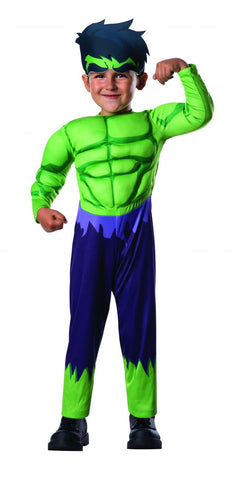 Toddlers Avengers Deluxe Hulk Costume