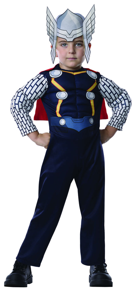 Toddlers Avengers Deluxe Thor Costume - HalloweenCostumes4U.com - Infant & Toddler Costumes
