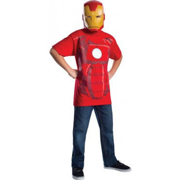 Boys Iron Man Child T-Shirt - HalloweenCostumes4U.com - Kids Costumes