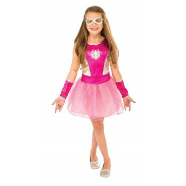 Girls Spider-Girl Costume - HalloweenCostumes4U.com - Kids Costumes