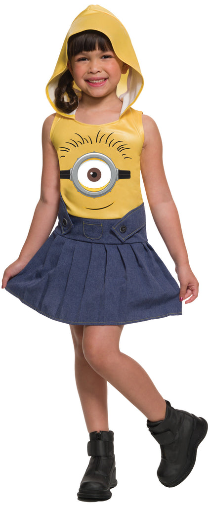 Girls Minion Costume - HalloweenCostumes4U.com - Kids Costumes