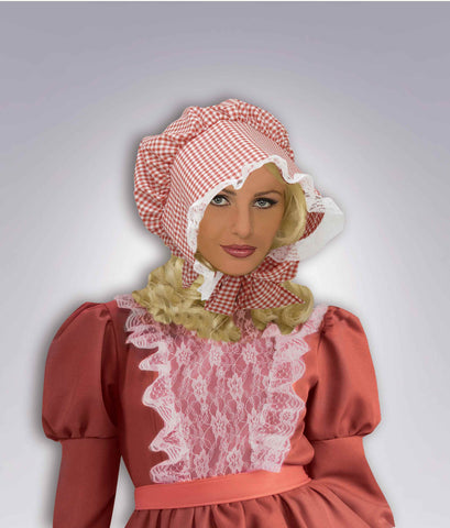Colonial Costume Hats Pioneer Woman Bonnet - HalloweenCostumes4U.com - Accessories