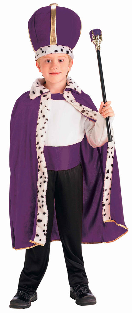 Kids Halloween Costumes King Costume Purple