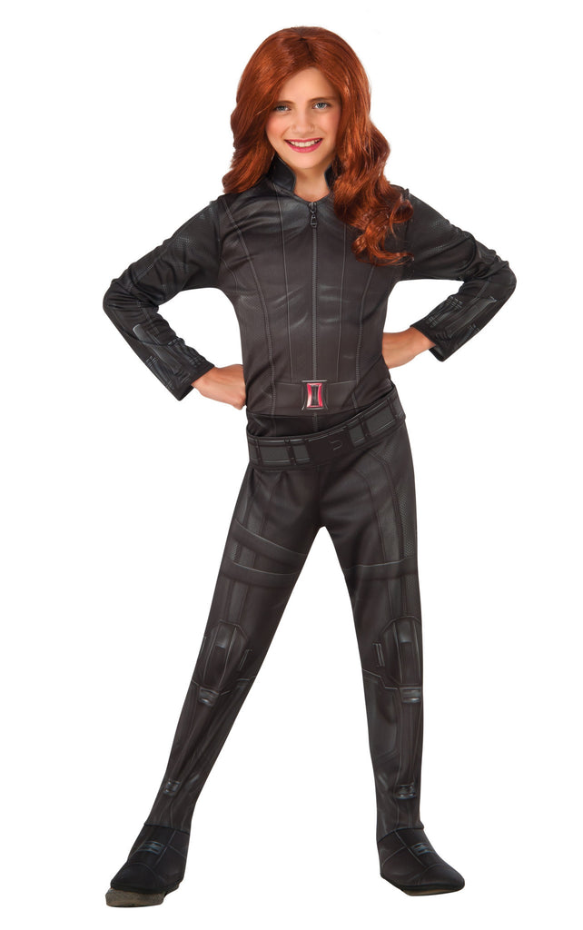 Girls Avengers Black Widow Costume - HalloweenCostumes4U.com - Kids Costumes