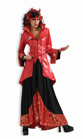 Devil Costumes Devil's Mistress Halloween Costume Adult - HalloweenCostumes4U.com - Adult Costumes
